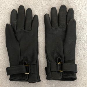 Brand New Vintage Roots leather gloves small